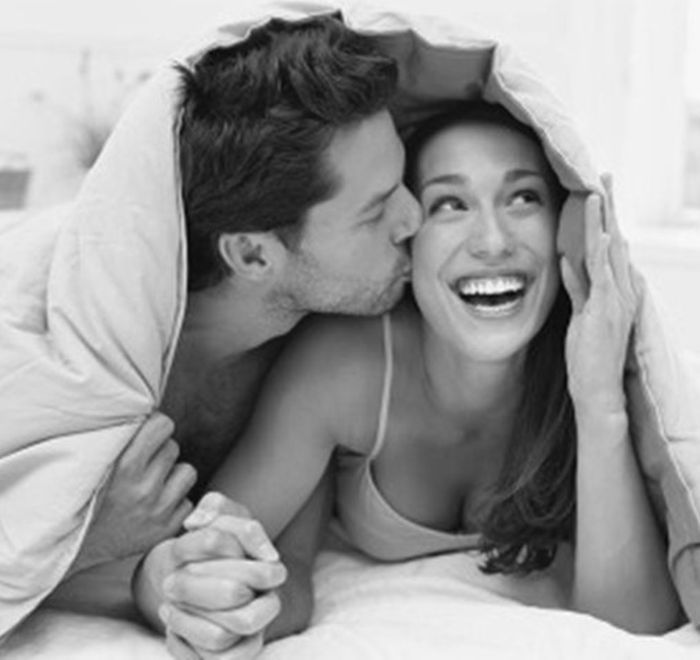 Image result for good morning bed kiss romantic