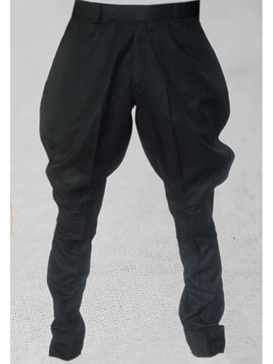 Black men's jodhpurs.