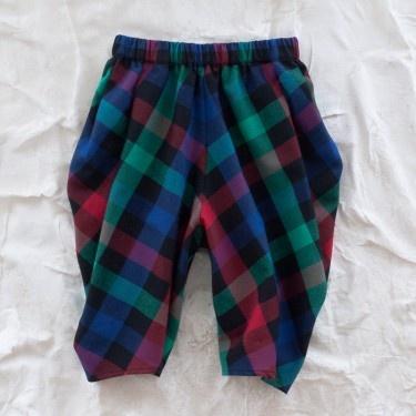 BABYLADY INC. #kids: Harem Clothes, Babylady Harem, Inspiration, 2 6 Harempant, Childrens Patterns, Harem Pants, Plaid Harem, Kid