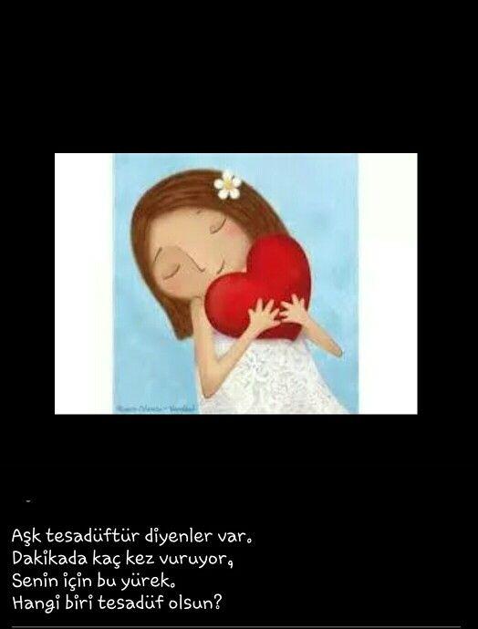 Aşk tesadüf etmez isabet eder. ...