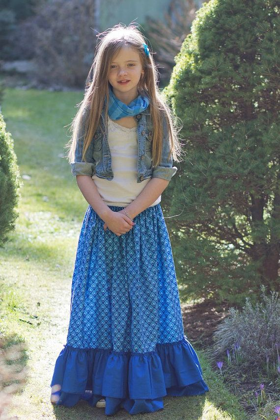 Gloria's Tween Maxi Skirt, Sun Dress, and Top PDF Pattern size 7/8 to 15/16  girls - 113 Best Young Modesty (Kids & Tweens) Images On Pinterest