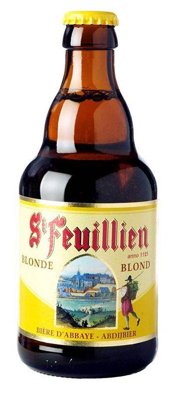 St-Feuillien blonde - St-Feuillien - Bières belges - Bières et Cidres - 5412138103310 - Alloboissons