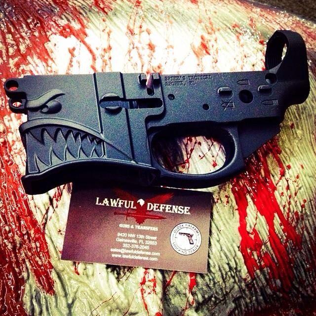 Spike's Tactical Hellbreaker AR 15 lower @hankstrange