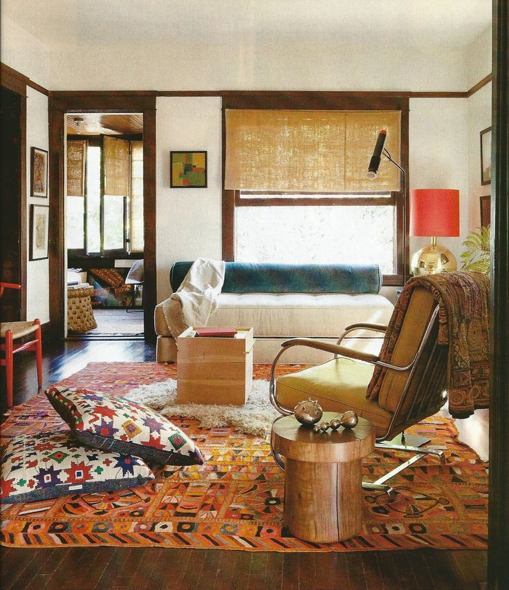 Thinking Of Ethnic And Modern Mix Decor For The Living Room