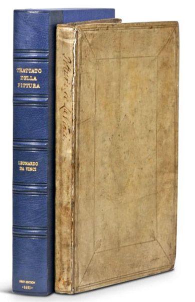 Leonardo Da Vinci - Trattato della pittura [Treatise of Painting]. This and more rare books for sale on CuratorsEye.com