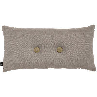 2 Dots pute fra HAY. En flott pute i Skandinavisk design. Puten er produsert i nylon og ull. Puten h...