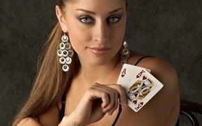 Обои poker, king, Look
