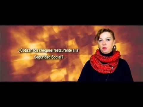 ¿Cotizan los cheques restaurante a la Seguridad Social? COMFIA CCOO responde - YouTube
