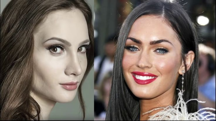 Megan Fox and Jessica Alba - Illuminati Trannies