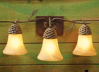 Rustic Bathroom Vanity Lights 37 best lighting images on pinterest | black forest decor, rustic