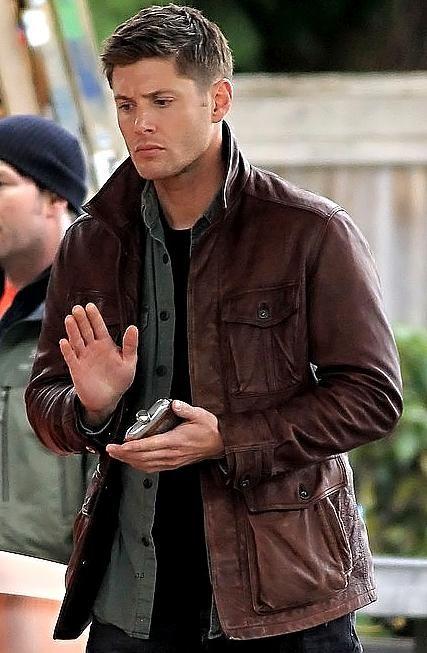 Season 7 Supernatural Brown Leather Jacket