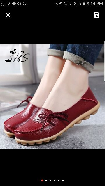 Online Shop Hot Sale Leather Beanie Women Shoes Fashion Summer Spring Autumn Slip-on Knot Non-slip Womens Women Ladies Soft Loafers Flats | Aliexpress Mobile