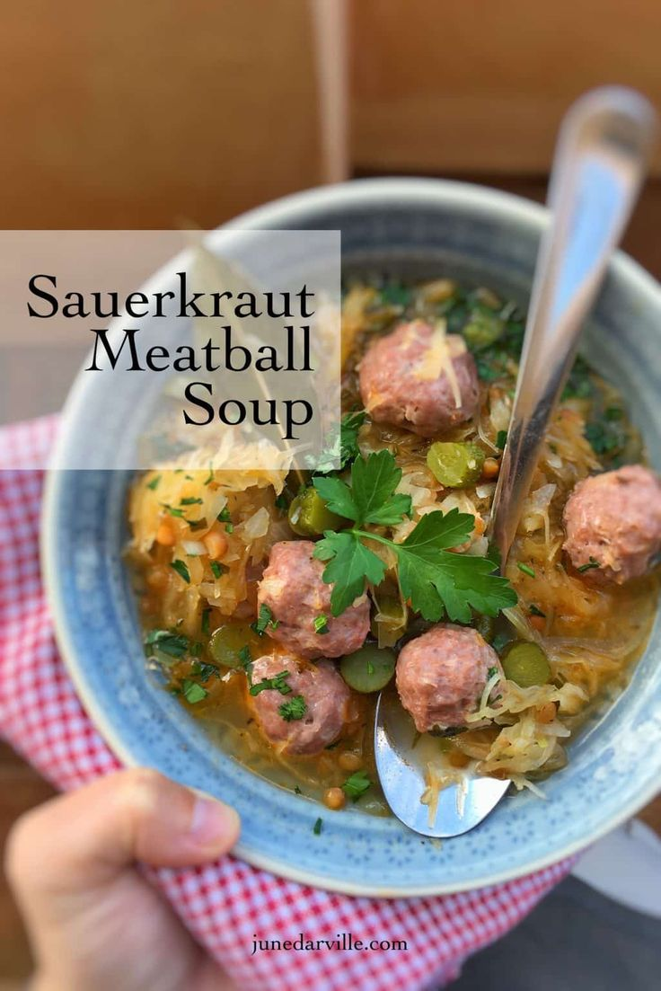 44 best st patricks day recipes images on pinterest easter dinner filling meatball sauerkraut soup easy beef recipesyummy recipeshealthy recipesdinner recipesrecipes with meatballsfood processor forumfinder