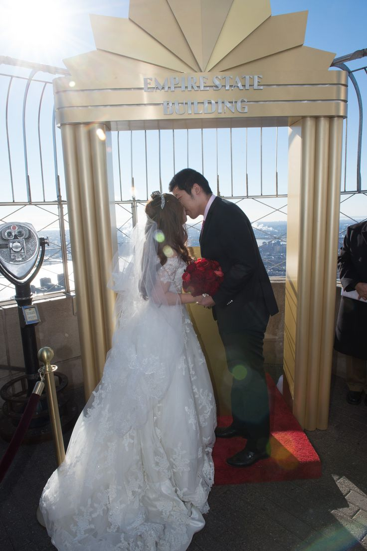 Ying And Jinhan Get Married At The Empire State Building On Valentine S Day
