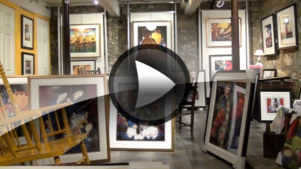 Bernard Séguin Poirier lance son Open house, son exposition annuelle, ainsi que son calendrier 2013...