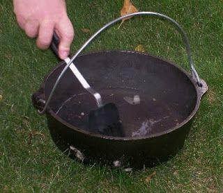 Redneck BBQ : Rengjøring og vedlikehold av støpejern