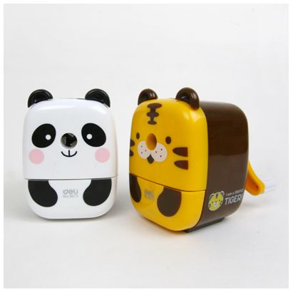 Animal Pencil Sharpener: I have the panda one, and it works great wouldn't mind getting another one:)
