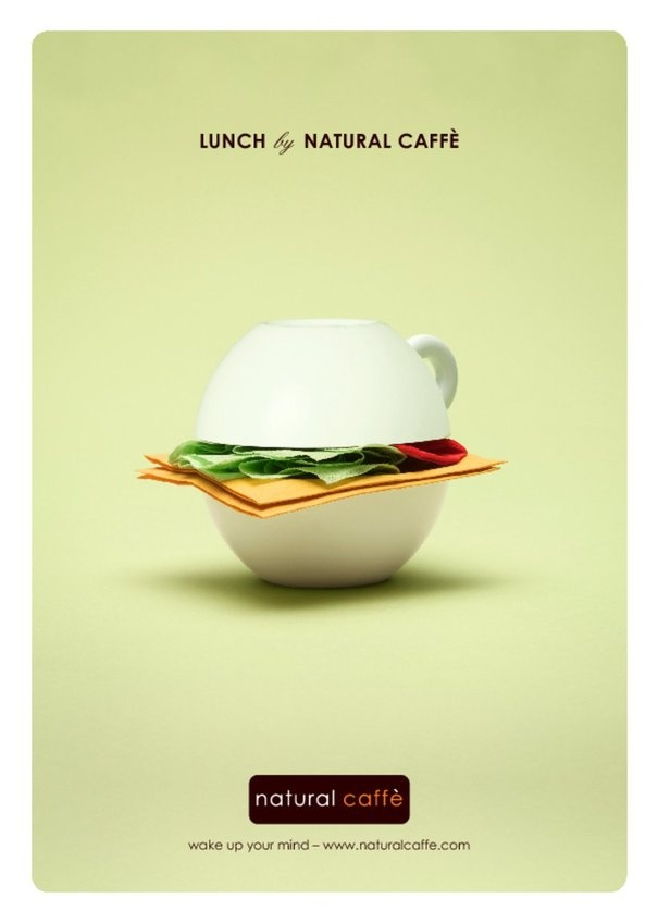 Geniale! LUNCH by NATURAL CAFFE': wake up your mind