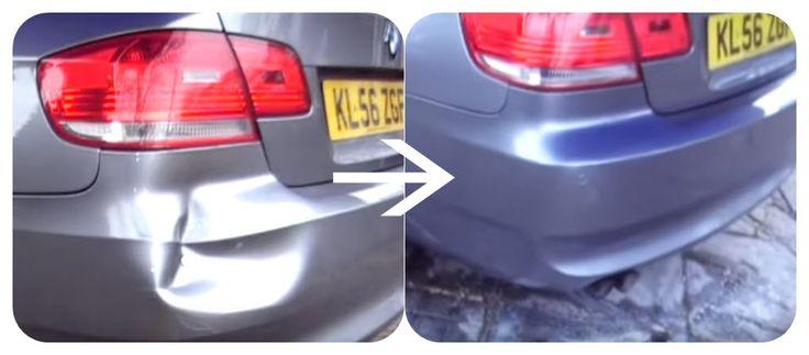 Car bumper repair, paint,mobile car repairs, in under 10 mins.