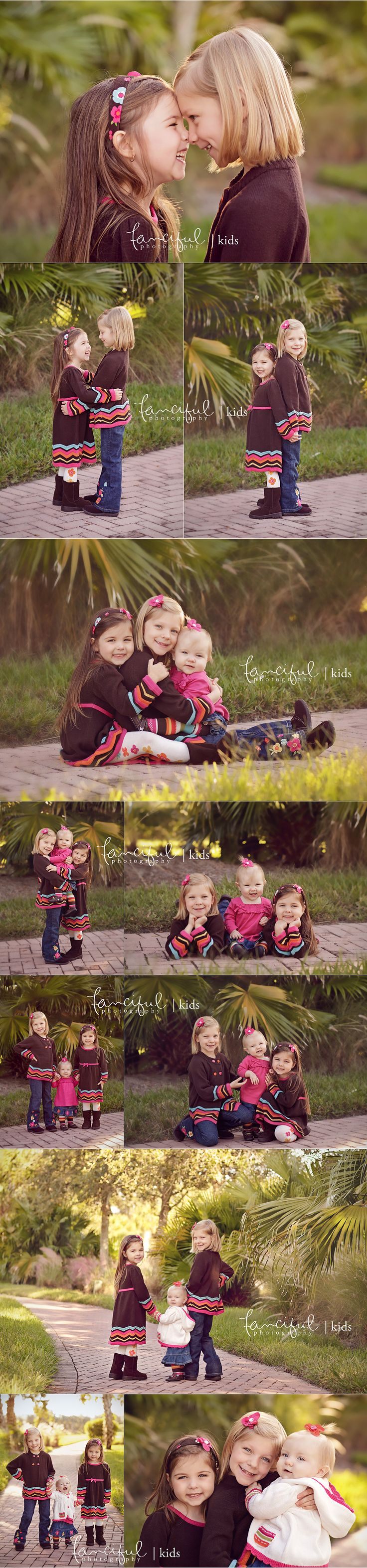 Sisters Storyboard - Sibling poses, three children picture ideas, fall picture clothes, Toddler and big sister