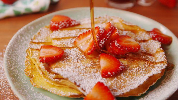 Best Cream Cheese Pancakes Recipe - How to Make Cream Cheese Pancakes