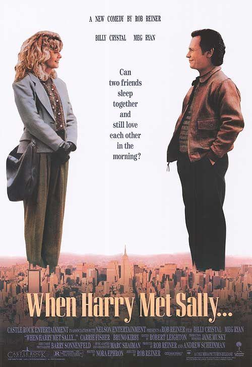 #151 When Harry Met Sally... 1989 (Dir. Rob Reiner. With Billy Crystal, Meg Ryan, Bruno Kirby, Carrie Fisher)