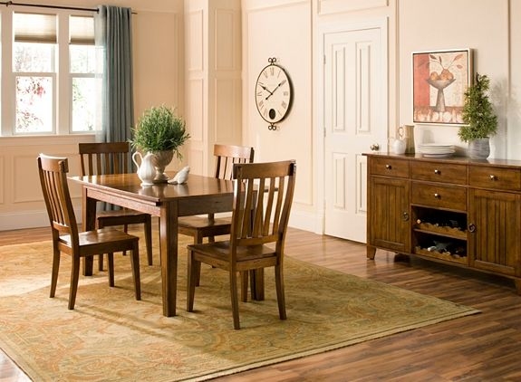 Barrington Dining Table W Leaves Dining Tables