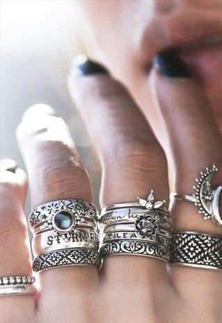 Storm Rider Sterling Silver Chunky Band Ring