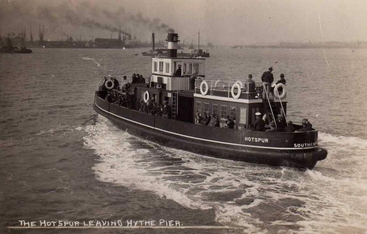 'Hotspur', Hythe Ferry, Hythe Pier, Near Southampton, Hampshire.
