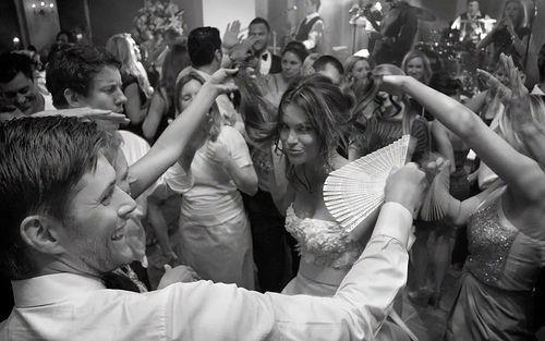 Jensen's wedding