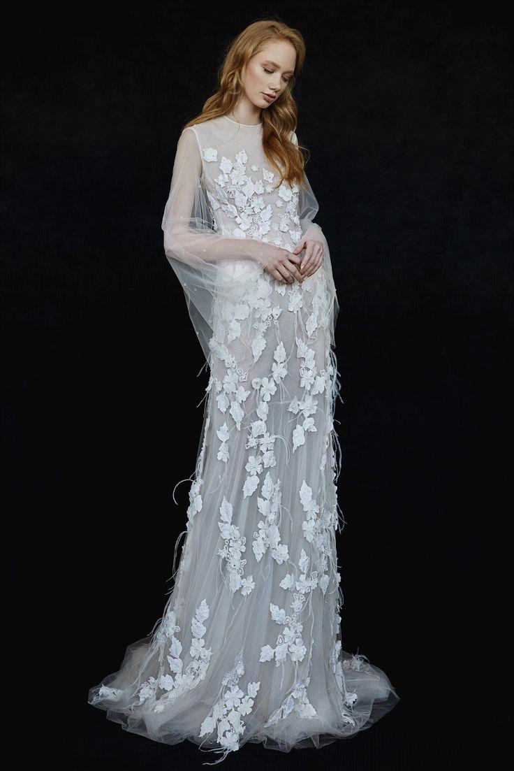 Luisa Wedding Gown #LuisaWeddingGown #OtiliaBrailoiuAtelier #weddingdress