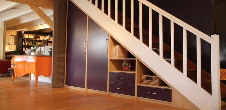 449 best Es©∂liE® images on Pinterest Stairs, Stairways and Ladder - porte de placard sous escalier