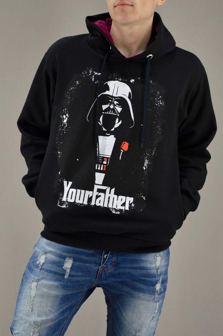 Ανδρικό φούτερ Υour Father FOUT-1217-bc | Φούτερ > Sport &