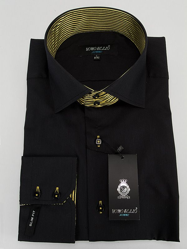 1888 Uomo Bello Shirt-Black