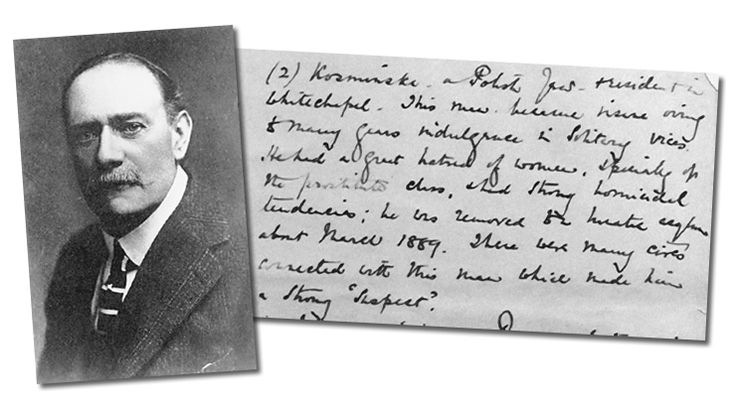 February 23, 1894 The MacNaghten Memoranda is Written  Melville MacNaghten writes his famous paper on Jack the Ripper to refute the Sun newspaper's claims that Thomas Cutbush committed the crimes.