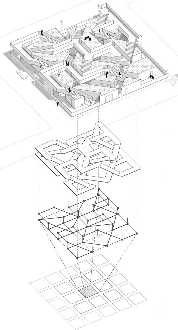 architecture diagram _ Megabudka: Shinkenchiku