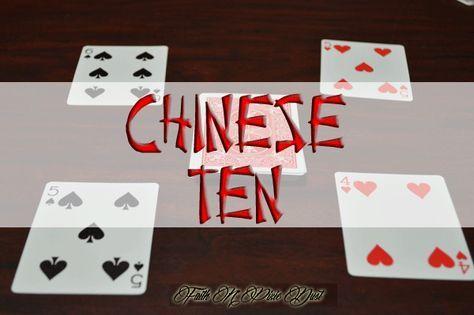 Family Game Night- Chinese Ten