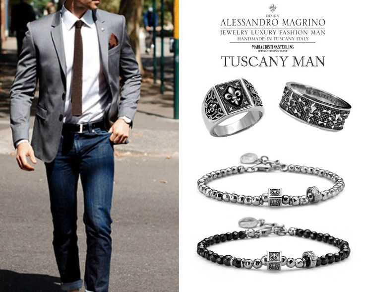 TUSCANY MAN Scopri la collezione per l'Uomo by MariaCristinaSterling http://shop.mariacristinasterling.it/categoria-prodotto/gioielli_uomo/collezione_tuscany_man/