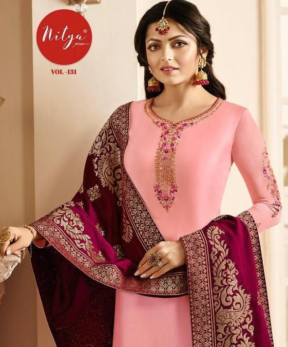 669606c7df lt nitya vol 131 designer salwar suits 3101-3109 series wholesale supplier  in surat - Krishna Creation