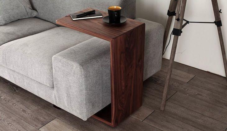 縦にも横にも置ける ソファには コの字テーブル が至高 ソファ サイドテーブル Diy インテリア 家具 オシャレ インテリア