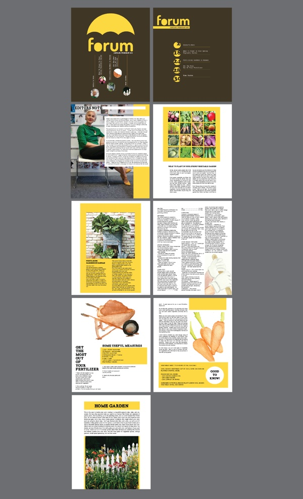 Magazine Design by Francis Ong, via Behance