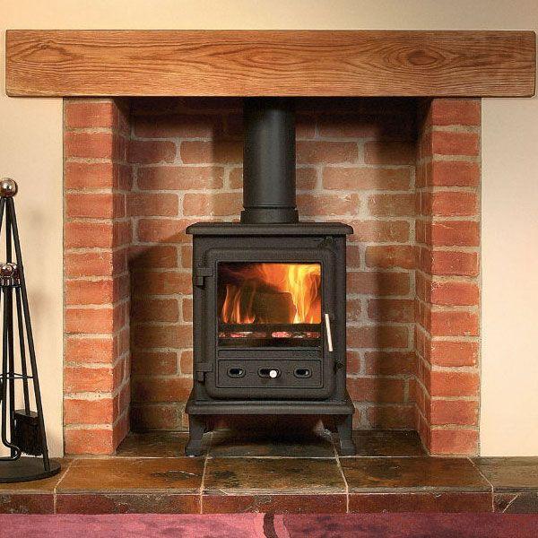Firefox multi fuel kw wood burning stove