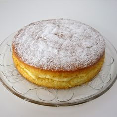cómocomo: Tarta NUBE rellena de crema pastelera Más