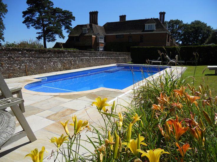 7 best Palisaden \/ Einfassungen images on Pinterest Decks, Beams - villa mit garten und pool