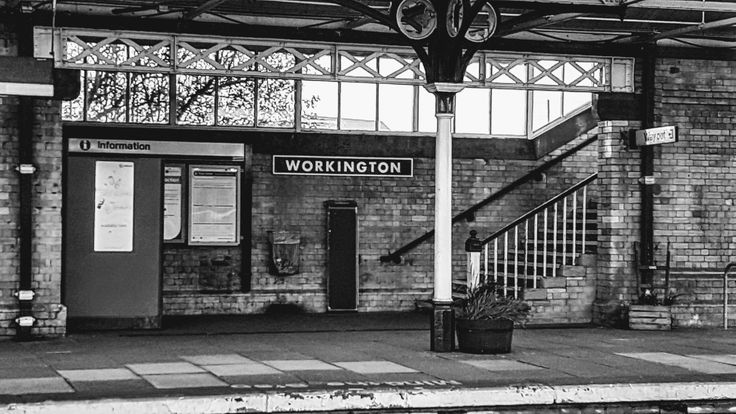 Workington train station April 2017.