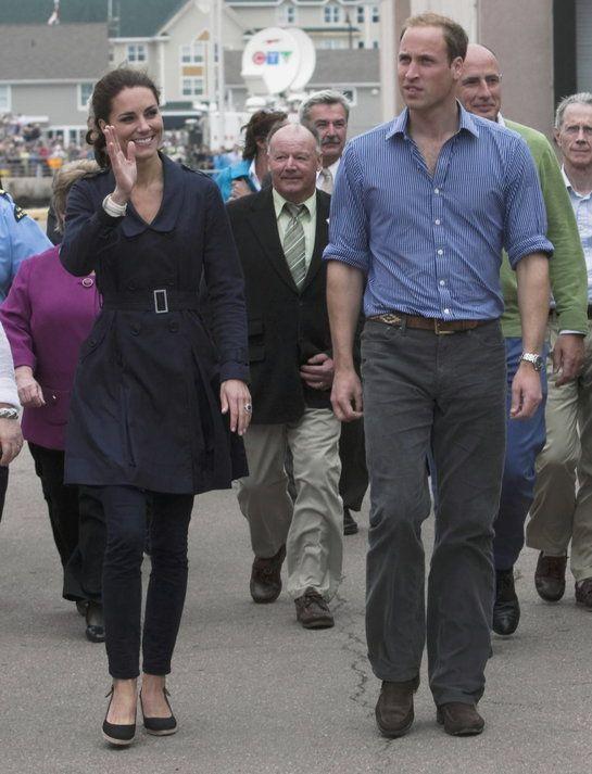 Kate Middleton a princ William počas návštevy Kanady.