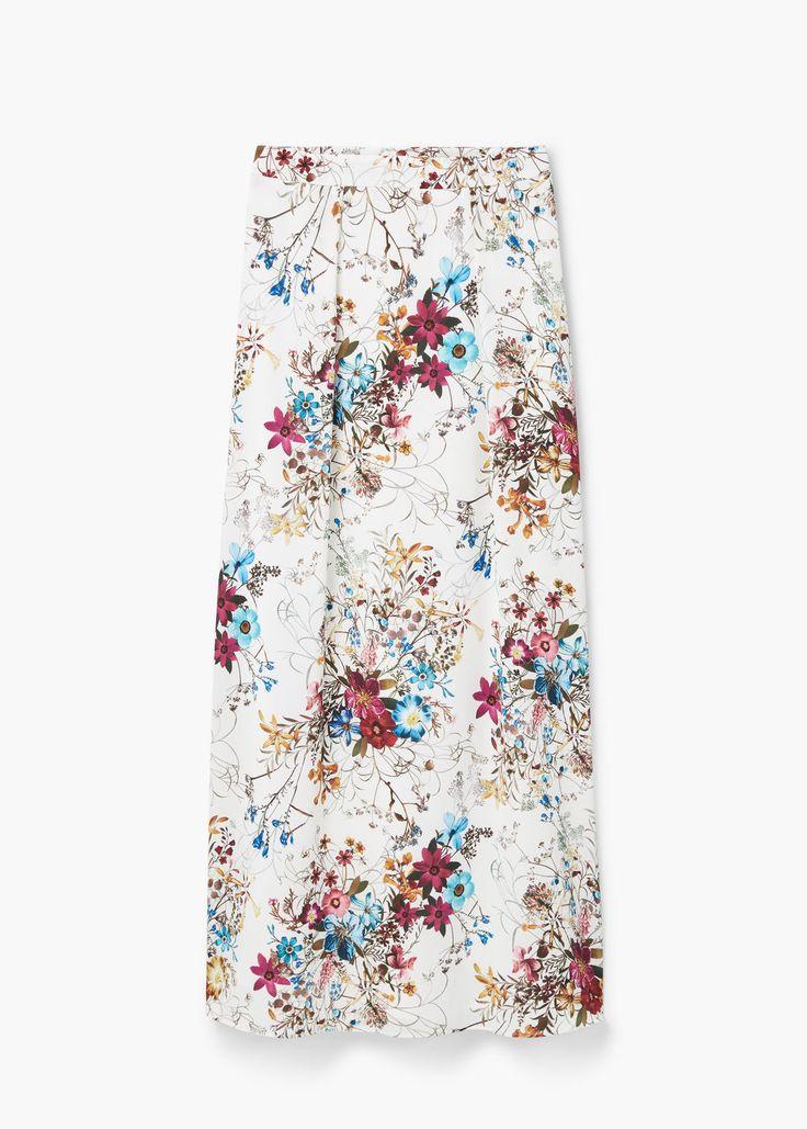 Floral print skirt | MANGO