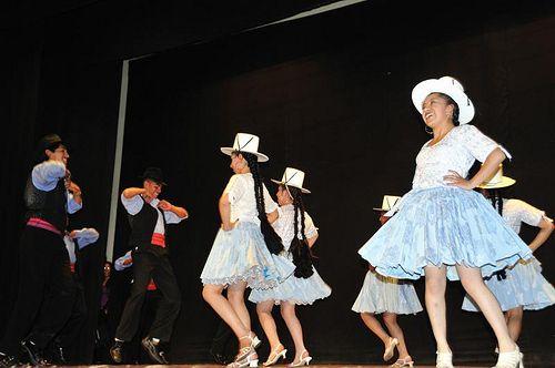 Bolivia.La Paz. Bailes tradicionales bolivianos.