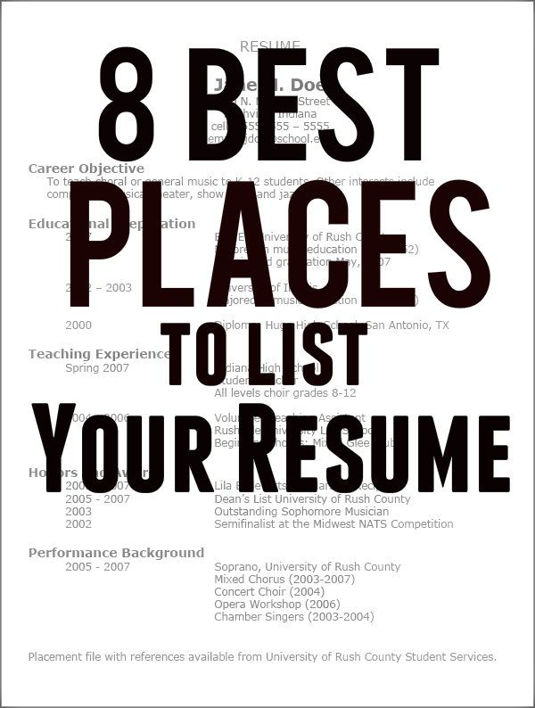 the best sites to post your resume tsm interactive
