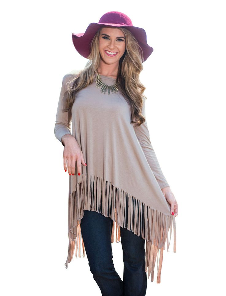 >> Click to Buy << Khaki Solid O-Neck Full Sleeve Fringe Blouse High And Low A Line Tassel Ruched Blouse 2016 Autumn New Top Casual Loose Blouses #Affiliate